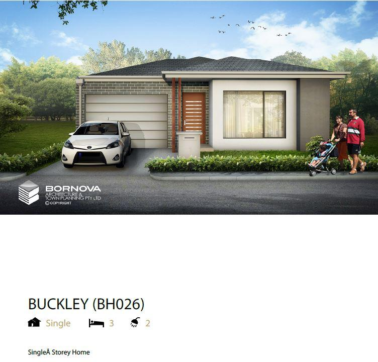 Buckley Front elevation